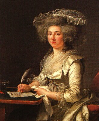examining the oed th century portrait of a w madame roland c 1787 by adelaide labille guiard source location musee des beaux arts quimper